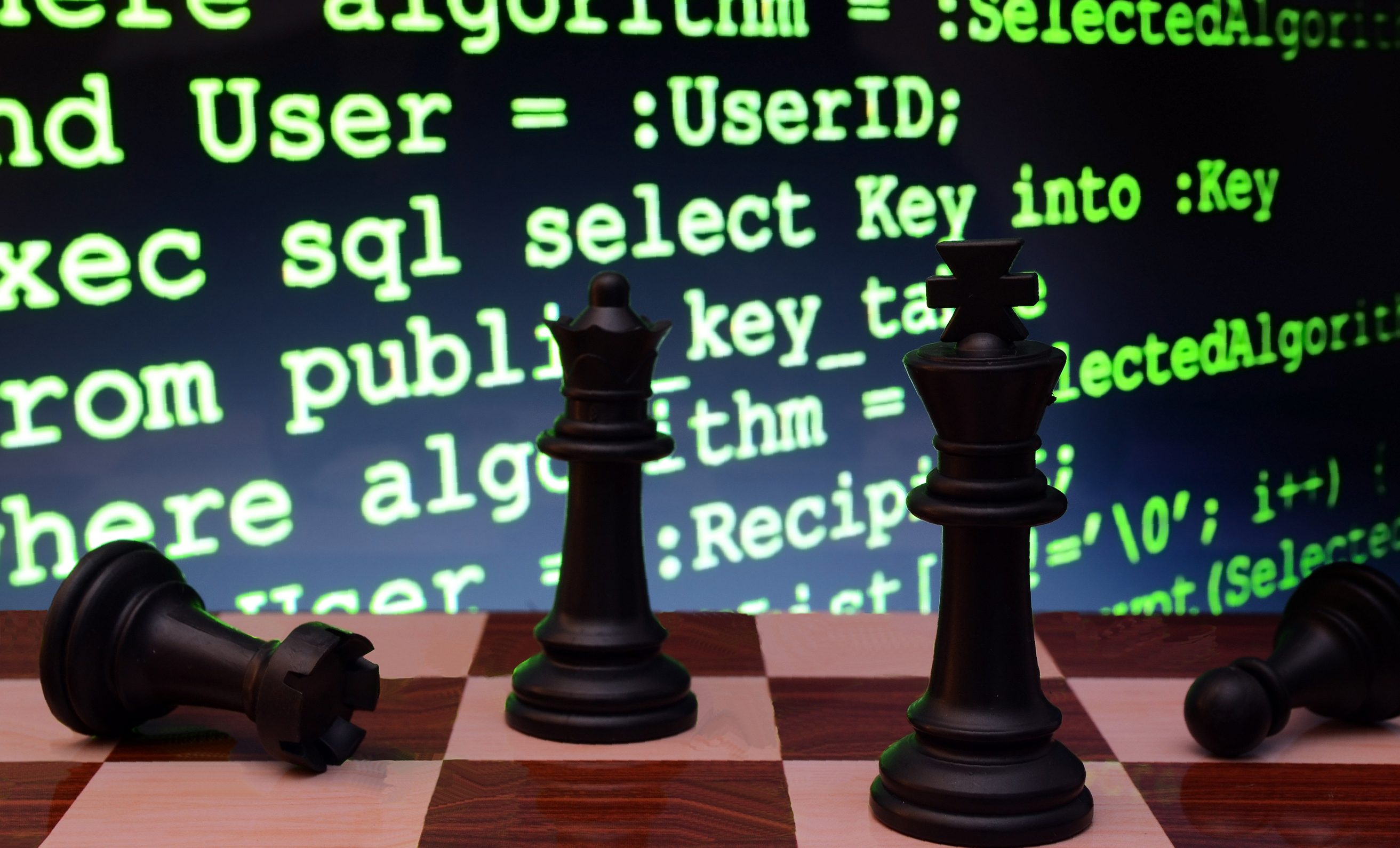 Chess Set with code