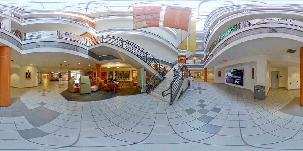 Interior of Russ Center