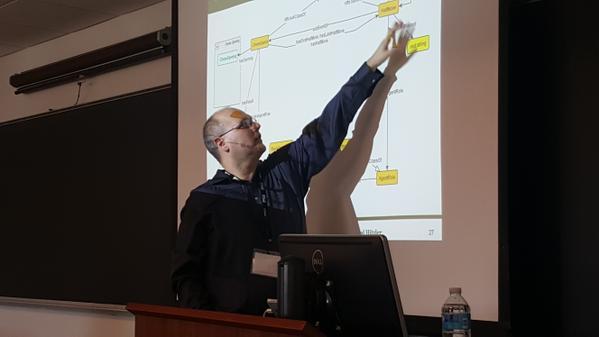 Pascal giving Diversity++ keynote