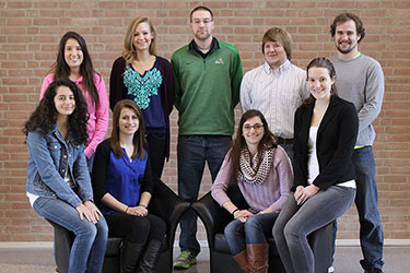 photo of the dean's student advisory board members for 2014-15
