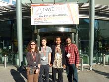 Data Semantics (DaSe) Lab members Michelle Cheatham, David Carral, Adila Krisnadhi, Raghava Mutharaju (from left to right)