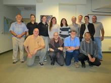 Some of the collaborators, at the first GeoLink project meeting, November 5-7 at NCEAS, Santa Barbara.