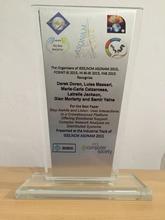 Best Paper Award from Industrial Track of IEEE/ACM ASONAM